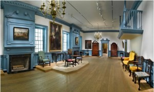 The ballroom from Gadsby's Tavern in the Metropolitan Museum of Art, May 2009. Photo by Gavin Ashworth.