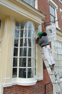 historic building paint restoration